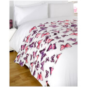 Dreamscene Butterfly Soft Fleece Throw (120 x 150cm)