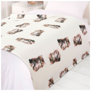 Dreamscene Cats Soft Fleece Throw (120 x 150cm)