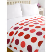 Dreamscene Spots Soft Fleece Throw (120 x 150cm)