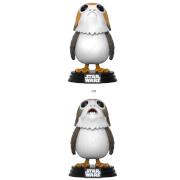 Figurine Pop! Porg Star Wars : Les Derniers Jedi ou Variante Chase