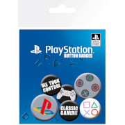 Sony PlayStation Classic Badge Pack