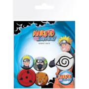 Naruto Shippuden Mix Badge Pack