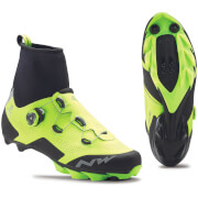 Northwave Raptor Artic MTB Winter Boots - Yellow
