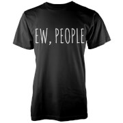 Ew, People T-Shirt - Black