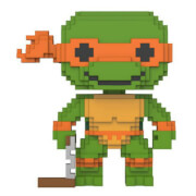 8 Bit Teenage Mutant Ninja Turtles Michelangelo Pop! Vinyl Figure