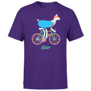No Drama Llama Men's Purple T-Shirt