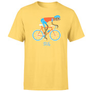 Slow And Steady Sloth Men's Yellow T-Shirt
