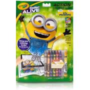 Minion Crayon Book