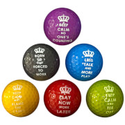 PGA Tour Novelty Golf Balls (6 Pack)