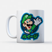 Nintendo® Super Mario Luigi Kanji Tasse