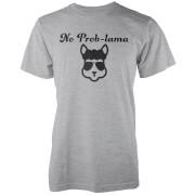 No Prob-Lama Grey T-Shirt