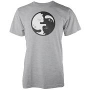 Ying Yang Cat Grey T-Shirt