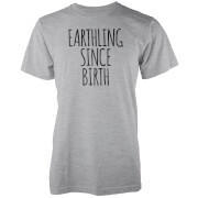 T-Shirt Femme Earthling Since Birth - Gris