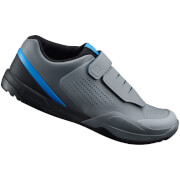 Shimano AM9 MTB Shoes - for SPD - Grey/Blue - UK 4/EU 38 - Grey/Blue