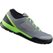 Shimano GR7 MTB Shoes - for Flat Pedals - Blue - EU 38 - Grey/Green