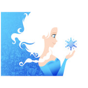 Affiche de Collection de Michael De Pippo - Disney - La Reine des Neiges Disney (46 cm x 61 cm)