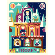 Disney - Greetings From Arendelle Print by Dave Perillo (457mm x 610mm)