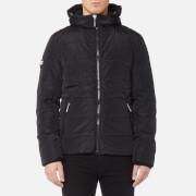Superdry Men's Sports Puffer Jacket - Black/Black