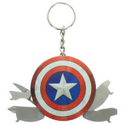 Porte-Clé Multi Outil Captain America - Marvel