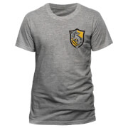 T-Shirt Homme Poufsouffle Harry Potter - Gris