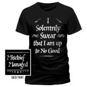 Harry Potter Solemly Swear Männer T-Shirt - Schwarz