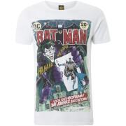 DC Comics Men's Batman Joker Comic T-Shirt - White