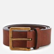 Original Penguin Men's Leather Jeans Belt - Brown