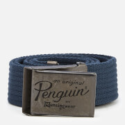 Original Penguin Men's Web Belt - Navy