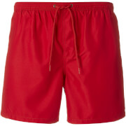 Brave Soul Men's Sparks Swim Shorts - Red