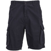 Brave Soul Men's Riverwood Cargo Shorts - Navy