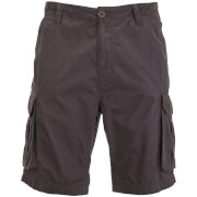 Brave Soul Men's Riverwood Cargo Shorts - Charcoal