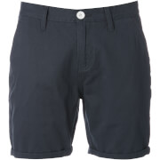 Brave Soul Men's Smith Chino Shorts - Navy