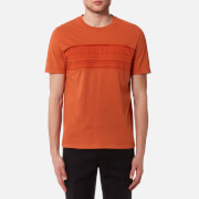 Folk Men's Pleat T-Shirt - Burnt Orange