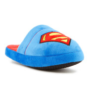 DC Comics Men's Superman Slippers - Blue