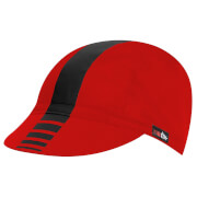 RH+ Logo Cycling Cap - Red/Black