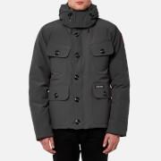Canada Goose Men's Selkirk Parka Jacket - Graphite - L - Grey