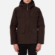 Canada Goose Men's Maitland Parka Jacket - Charred Wood - L - Brown
