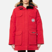 Canada Goose Women's Expedition Parka Jacket - Red