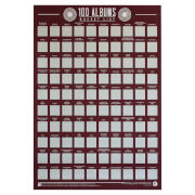 Image of 100 Albums Bucket List Poster