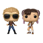 Marvel Vs Capcom Captain Marvel Vs Chun-Li Pop! Vinyl Figure 2 Pack