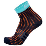 Santini Giada Low Dryarn Socks - Blue