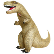 Inflatable Adults' Giant T-Rex Costume - Green