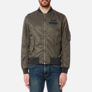 Polo Ralph Lauren Men's Nylon Bomber Jacket - Olive - S - Green