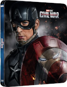 Captain America 3: Civil War 3D (Includes 2D Version) - Zavvi Exclusive Lenticular Edition Steelbook