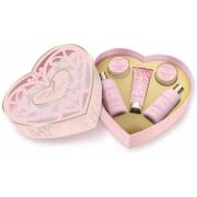 Baylis & Harding Rose Prosecco Fizz Large Heart
