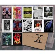 Lot de 12 Lithographies X-Files Saison Un par Acme Archive et l'Artiste J.J. Lendl - Exclusivité Zavvi UK (Limitée à 100)