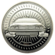 Back to the Future 'DeLorean' Collector's Limited Edition Coin: Silver Variant