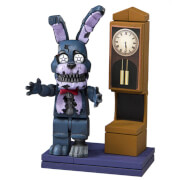 McFarlane Five Nights At Freddy's Grandfather Clock With Nightmare Bonnie (Micro Set)
