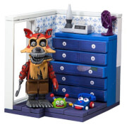 Kit de Construction Five Nights At Freddy's Armoire avec Nightmare Foxy (Micro Set) - McFarlane