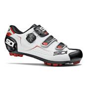Sidi Trace MTB Shoes - White/Black/Red - EU 42.5 - White/Black/Red
